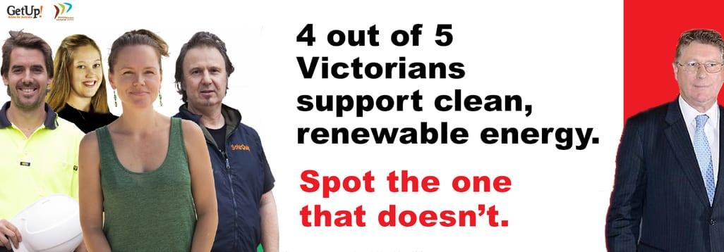 Environment Victoria RET campaign