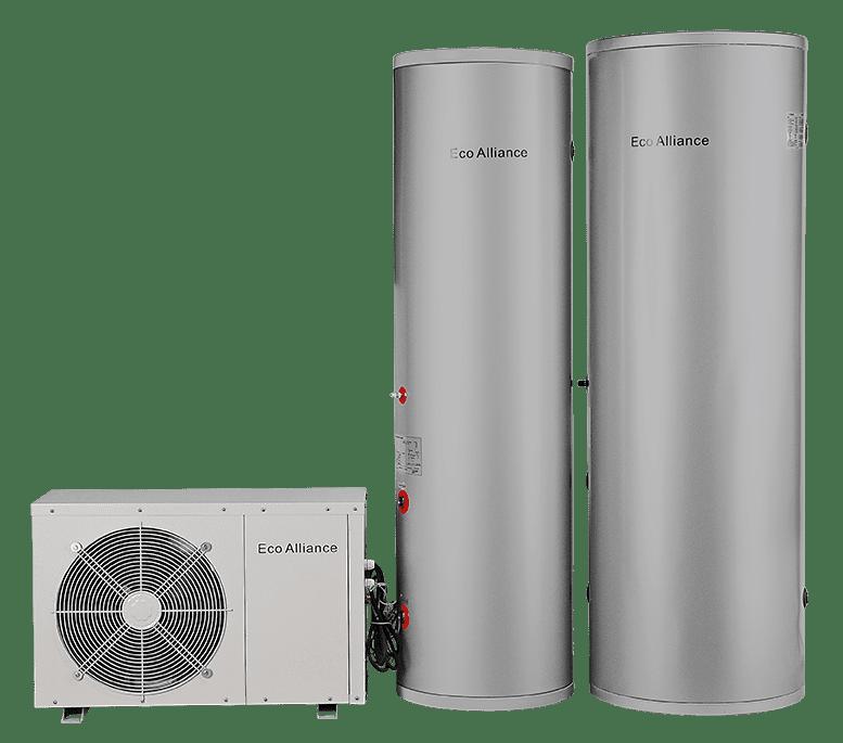 Heat pump hot water unit